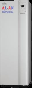 Toplotna črpalaka Fujitsu Waterstage WGYK160DG9WOYK140LCTA. Moč gretja 14 - 15 kW