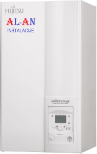 Toplotna črpalka Fujitsu Waterstage WPYA080LE/WSYP100DF6, Moč gretja 7,1 - 8 kW