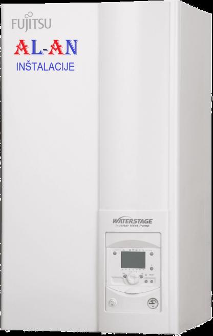 Toplotna črpalka Fujitsu Waterstage WSYG140DG6/WOYG112LCTA, Moč Gretja 10,1 - 11 kW