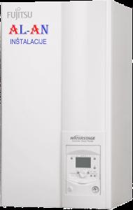Toplotna črpalka Fujitsu Waterstage WSYG140DG6/WOYG140LCTA, Moč gretja 14 - 15 kW